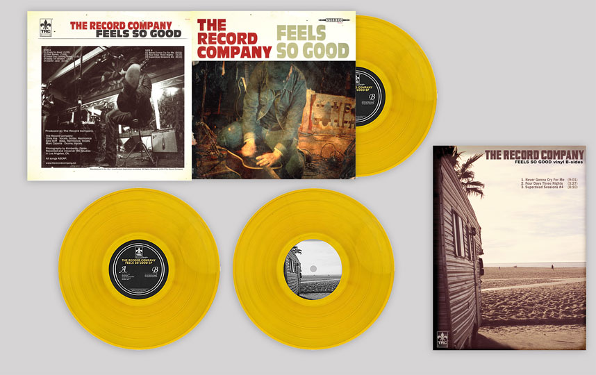 The Record Company - Feels So Good EP 180 gram Gold vinyl with Poster